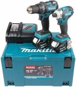 Makita DLX2118MJ Verktøysett (DDF480+DTD148)