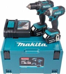 Makita DLX2127MJ Verktøysett (DDF482+DTD152)