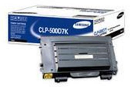 Samsung CLP-500/500N Svart
