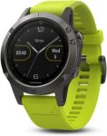 Garmin Fenix 5 Slate Gray with Amp Yellow Band (010-01688-02)