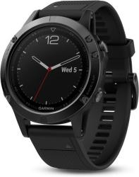 Garmin Fenix 5 Black Sapphire with Black Band (010-01688-11)