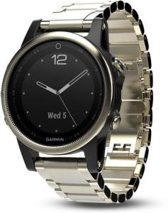 Garmin Fenix 5S Champagne Sapphire with Metal Band (010-01685-15)