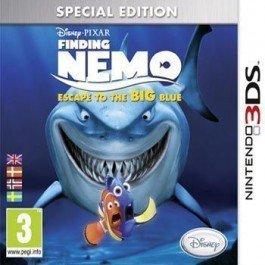 Finding Nemo Escape to the BIG Blue til 3DS