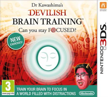 Dr. Kawashima's Devilish Training til 3DS
