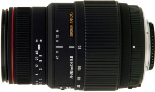 Sigma 70-300mm F4-5.6 APO DG Macro for Nikon