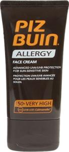 Piz Buin Allergy Face Cream SPF50+