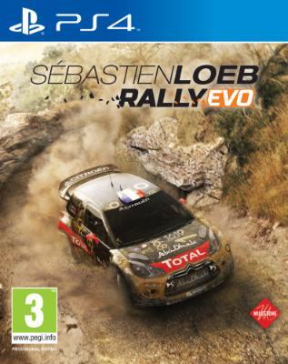 Sébastien Loeb Rally Evo til Playstation 4