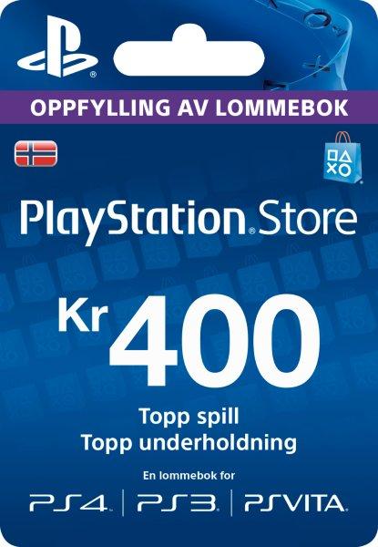 Sony Playstation Network Prepaid 400 Kr