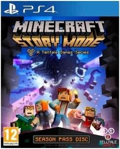 Minecraft: Story Mode til Playstation 4