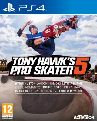 Tony Hawk's Pro Skater 5 til Playstation 4