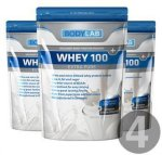 Bodylab Whey 100 Extra Pure (4x1 kg)