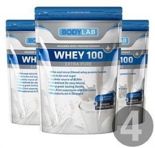 Bodylab Whey 100 Extra Pure (4x1 kg)