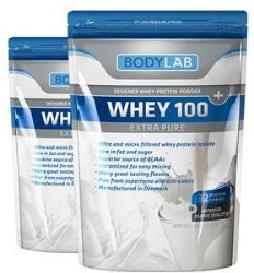 Bodylab Whey 100 Extra Pure (2x1 kg)