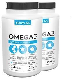 Bodylab Omega 3 2x240 stk