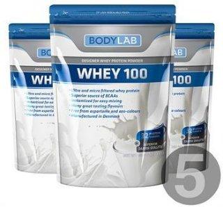 Bodylab Whey 100 (5x1 kg)