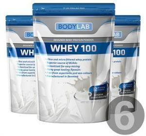 Bodylab Whey 100 (6x1 kg)