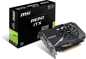 MSI Geforce GTX 1060 3GB Aero ITX OC