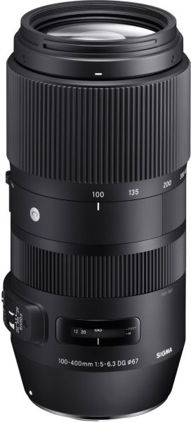Sigma 100-400mm f/5-6.3 DG OS HSM C for Canon