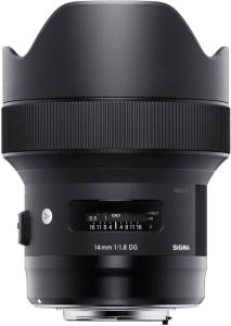 Sigma 14mm F1.8 DG HSM Art for Canon