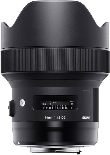 Sigma 14mm F1.8 DG HSM Art for Sony-E
