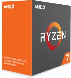 AMD Ryzen 7 1700X uten kjøler