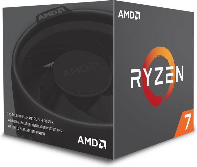 AMD Ryzen 7 1700 med kjøler