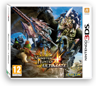 Monster Hunter 4 Ultimate til 3DS