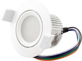 Loxone LED-spot RGBW (farger+varmhvit)