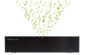 Loxone Musikkserver 8 Soner