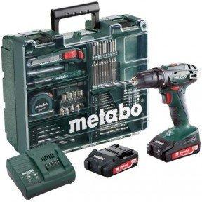 Metabo BS 18V (2x2,0Ah) sett