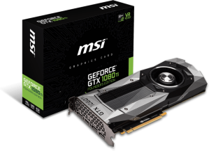 MSI GeForce GTX 1080 Ti Founders Edition