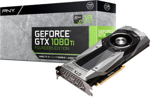 PNY GeForce GTX 1080 Ti Founders Edition