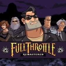 Full Throttle Remastered til Playstation 4