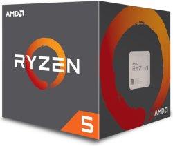 AMD Ryzen 5 1400 med kjøler