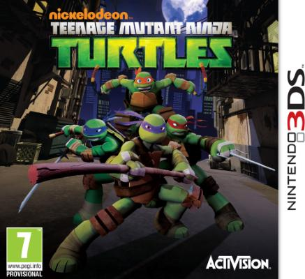 Teenage Mutant Ninja Turtles til 3DS