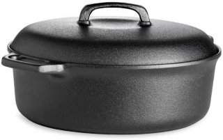 Gense Le Gourmet jerngryte oval 5L
