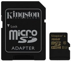 Kingston MicroSDHC 16GB