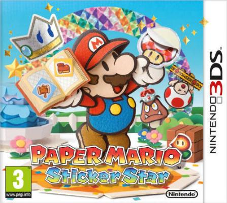 Paper Mario: Sticker Star til 3DS