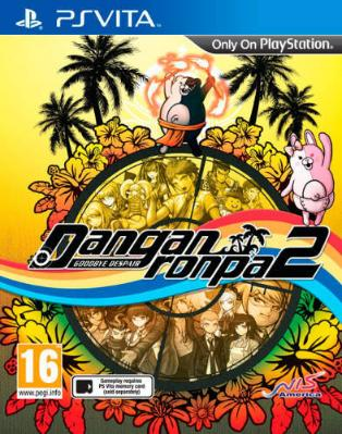 Danganronpa 2: Goodbye Despair til Playstation Vita