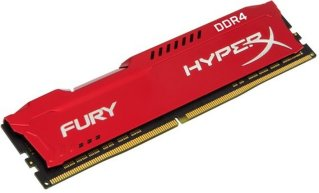 Kingston HyperX Fury Red DDR4 2666MHz 16GB