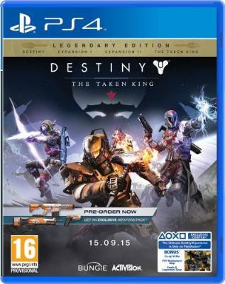 Destiny: The Taken King til Playstation 4