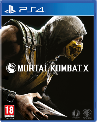 Mortal Kombat X til Playstation 4