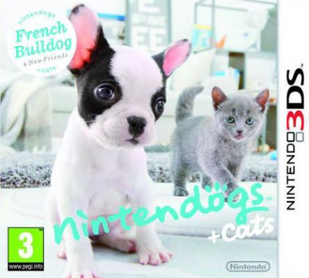 nintendogs + cats til 3DS