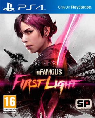 Infamous: First Light til Playstation 4