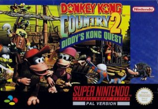 Donkey Kong Country 2: Diddy's Kong Quest til Super Nintendo