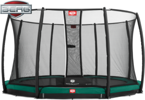 Berg Champion InGround 380 med Deluxe nett