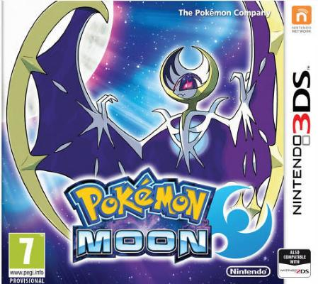 Pokémon Moon til 3DS