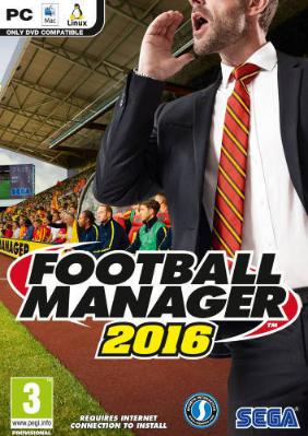 Football Manager 2016 til PC