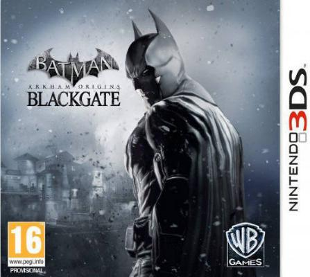 Batman: Arkham Origins Blackgate til 3DS