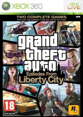 Grand Theft Auto: Episodes From Liberty City til Xbox 360